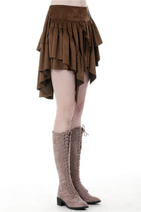 Dark In Love Kai Steampunk Skirt