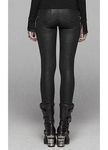 Punk Rave Thea Faux Leather Leggings - Kate's Clothing