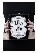Load image into Gallery viewer, Killstar Pure Poison Clutch Bag - Kate's Clothing