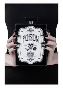 Killstar Pure Poison Clutch Bag - Kate's Clothing