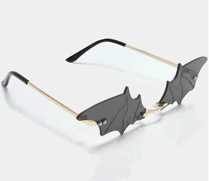 Koi Black Bat Out of Hell Sunglasses - Kate's Clothing