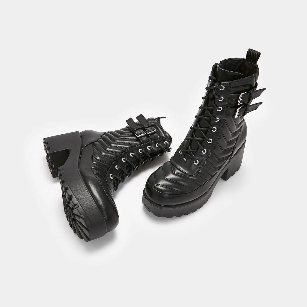 Koi Takla Padded Chunky Boots - Kate's Clothing