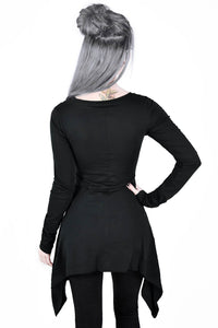 Killstar Cora Long Sleeve Top - Kate's Clothing