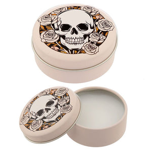 Gothic Gifts Skulls & Roses Vanilla Lip Balm - Kate's Clothing