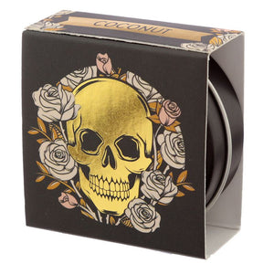 Gothic Gifts Skulls & Roses Coconut Lip Balm - Kate's Clothing