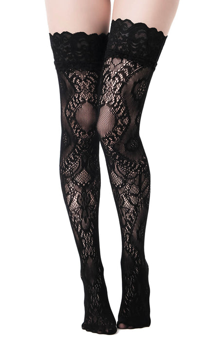 Killstar Lovelace Stockings - Kate's Clothing