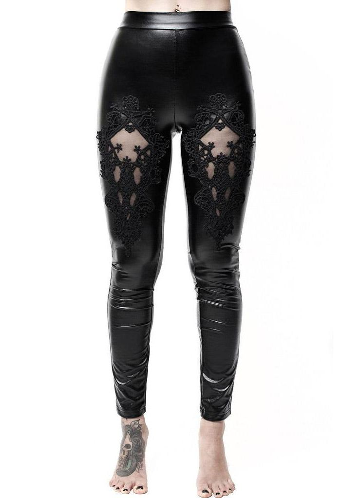 Killstar Lovelace Leggings - Kate's Clothing