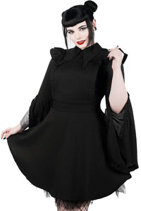 Killstar Low-Lita Apron Dress - Kate's Clothing