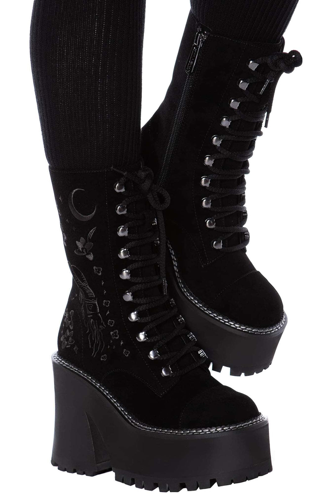 Killstar Luci-Fairy Boots - Kate's Clothing