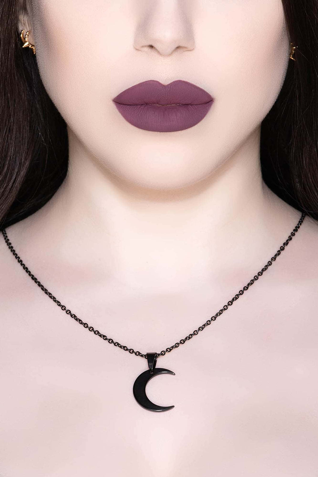 Killstar Lunar Necklace Black - Kate's Clothing