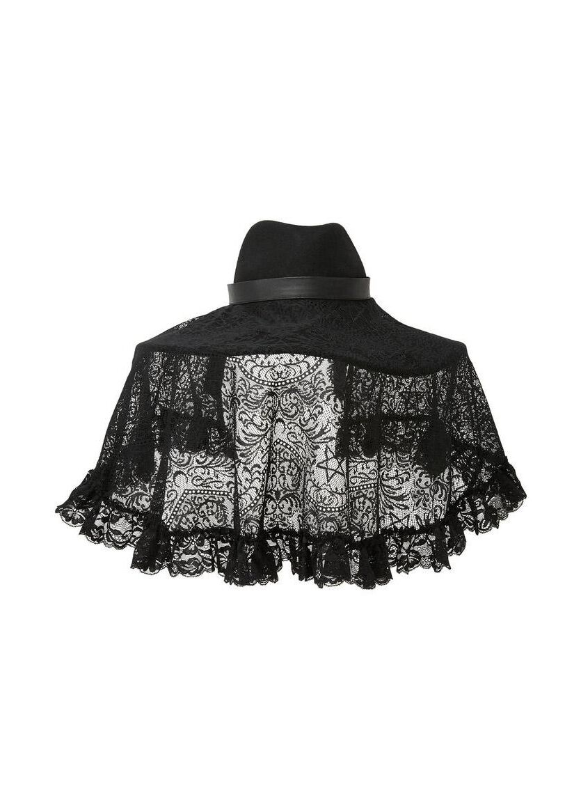 Killstar Lydia Lace Veil - Kate's Clothing