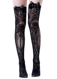 Killstar Lysithea Lace Socks - Kate's Clothing