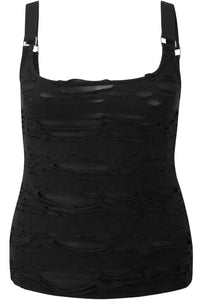 Killstar Machete Vest Top Plus Size - Kate's Clothing