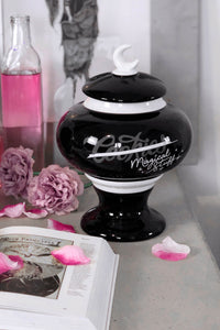 Killstar Magical Stuff Ceramic Jar - Kate's Clothing