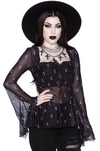 Killstar Maya Long Sleeve Top