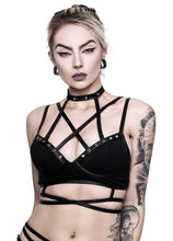 Load image into Gallery viewer, Killstar Metal Maiden Bralet - Kate's Clothing