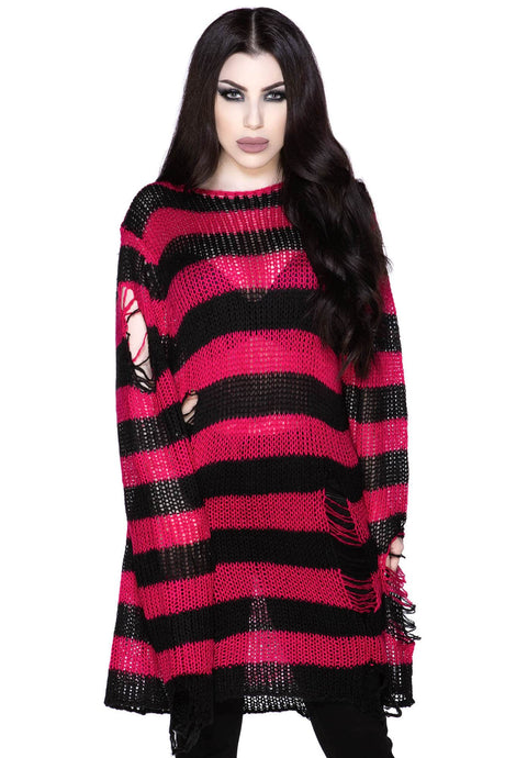 Killstar Mika Knit Sweater - Kate's Clothing