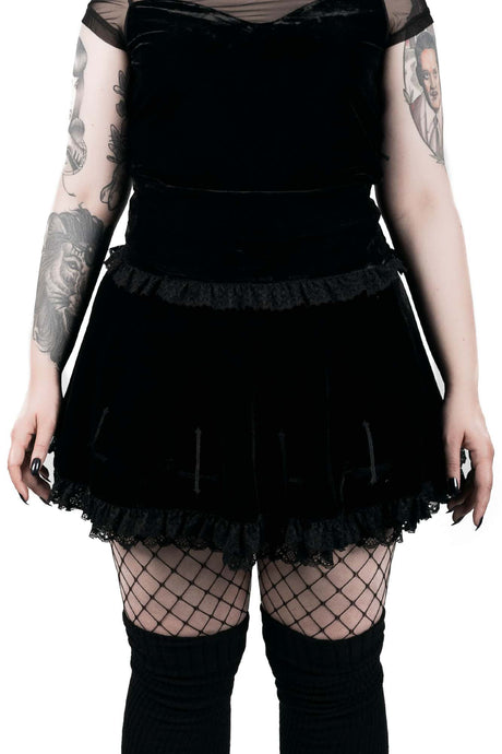 Killstar Mitzy Mini Skirt - Kate's Clothing