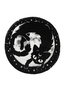 Killstar Moon Kitty Blanket - Kate's Clothing