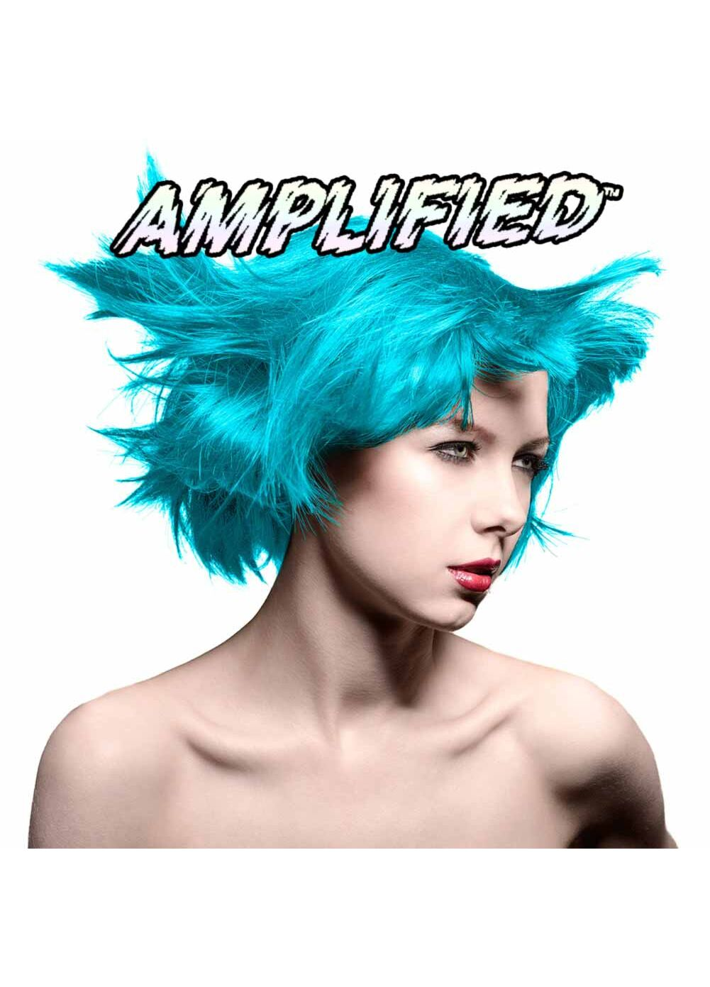 Manic Panic Amplified Semi Permanent Hair Colour EU Formula - Atomic Turquoise - Kate's Clothing