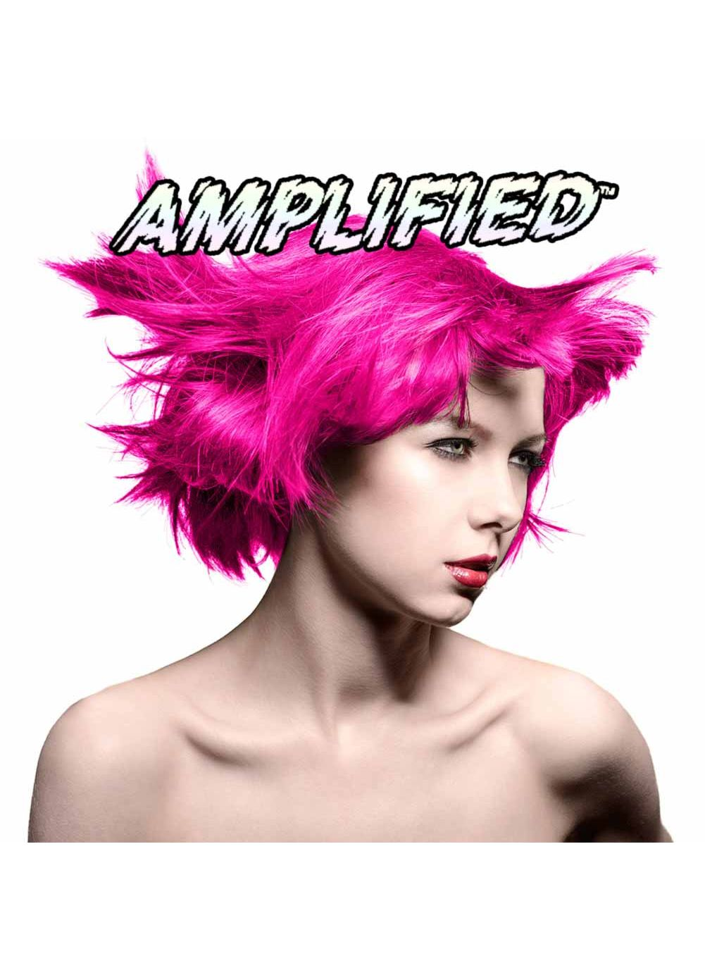 Manic Panic Amplified Semi Permanent Hair Colour EU Formula - Hot Hot Pink