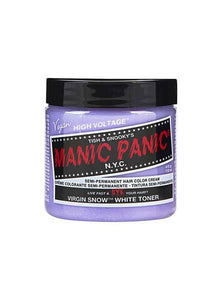 Manic Panic Classic Cream Hair Colour - Virgin Snow White Toner - Kate's Clothing