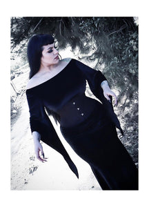 Necessary Evil Freya Velvet Maxi Dress - Kate's Clothing