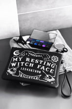 Load image into Gallery viewer, Killstar Witch Face Makeup Bag - Kate's Clothing