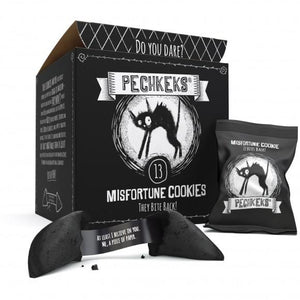 Pechkeks Novelty Gothic Misfortune Cookies - Kate's Clothing
