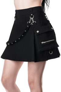 Killstar Gunner Pleated Skirt - Kate's Clothing