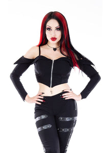 Necessary Evil Minyas Crop Top