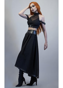 Necessary Evil Hecate Maxi Skirt with Pockets - Kate's Clothing
