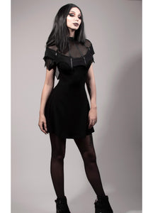 Necessary Evil Nox Bat Wing Dress - Kate's Clothing