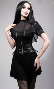 Necessary Evil Bella Bat Wing Belt - Kate's Clothing
