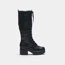 Load image into Gallery viewer, Koi Sektor Chunky High Boots - Kate's Clothing