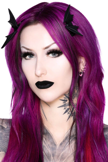 Killstar Night Creature Hair Clip - Kate's Clothing