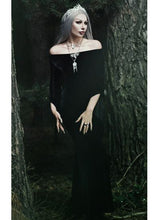 Load image into Gallery viewer, Necessary Evil Freya Velvet Maxi Dress - Kate's Clothing