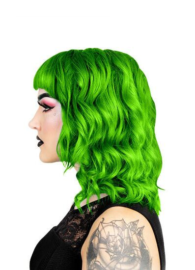 Herman's Amazing Direct Hair Colour - UV Olivia Green - Kate's Clothing