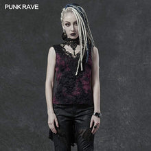 Load image into Gallery viewer, Punk Rave Aneria Top - Purple - Kate's Clothing