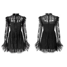 Load image into Gallery viewer, Punk Rave Anwen Lace Dress - Kate's Clothing
