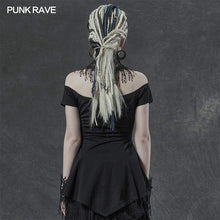Load image into Gallery viewer, Punk Rave Arachne Top - Kate's Clothing