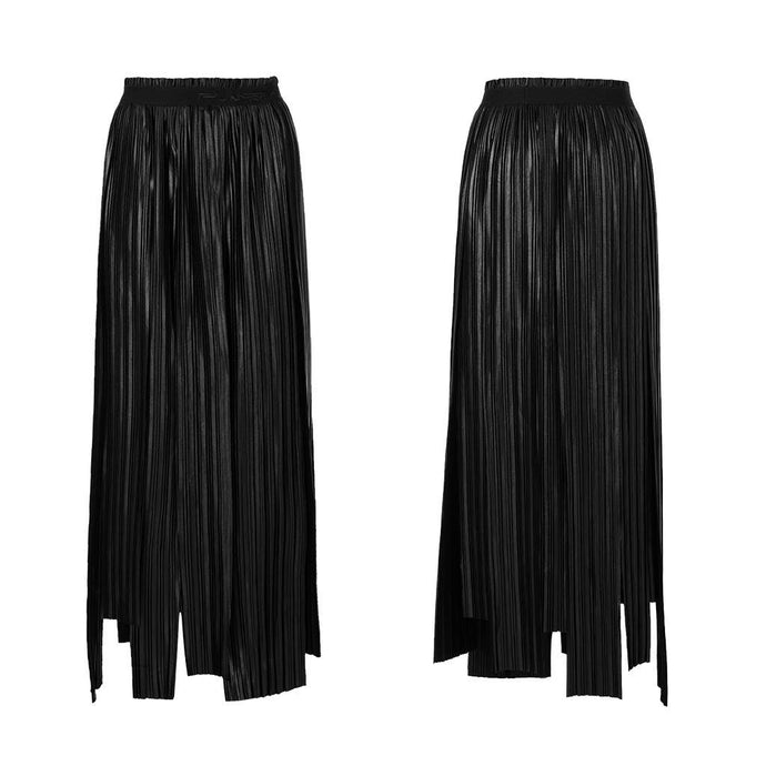 Punk Rave Astra Pleated Skirt - Kate's Clothing
