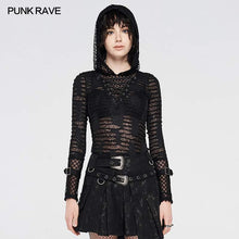 Load image into Gallery viewer, Punk Rave Calantha Net Top - Kate's Clothing