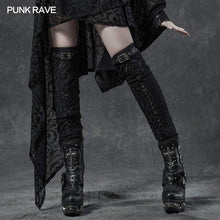 Load image into Gallery viewer, Punk Rave Gothic Leg Warmers - Kate's Clothing