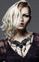 Load image into Gallery viewer, Punk Rave Gothic Rose Embroidered Lace Necklace - Kate's Clothing