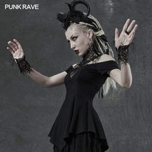 Load image into Gallery viewer, Punk Rave Night Vine Collar And Cuffs Set - Kate's Clothing