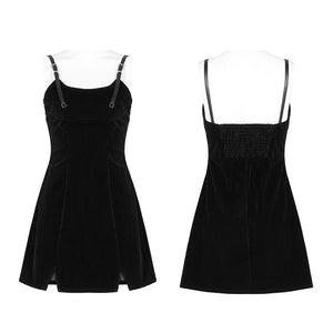 Punk Rave Orli Cord Dress - Kate's Clothing