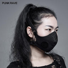 Load image into Gallery viewer, Punk Rave Osmium Face Covering - Kate's Clothing