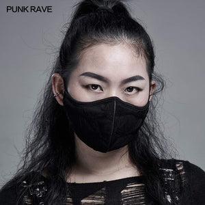 Punk Rave Shai Ruched Face Covering - Kate's Clothing