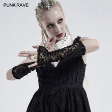 Load image into Gallery viewer, Punk Rave Solar Lace Cuffs - Kate's Clothing